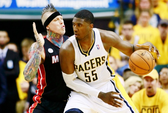 Pacers Beat Miami Heat to Level Series