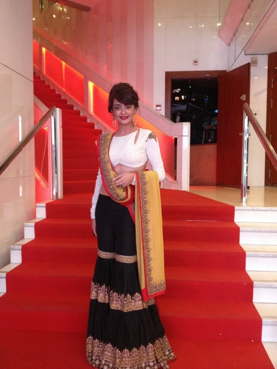 Surveen Chawla at Cannes