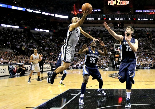 Spurs Hold Off Grizzlies in Overtime