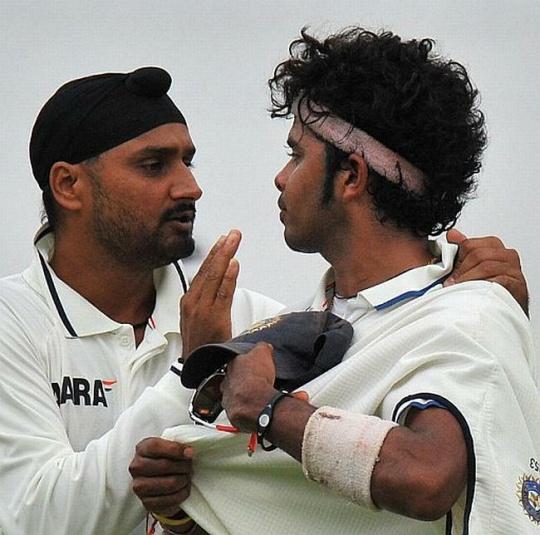 Sreesanth Harbhajan