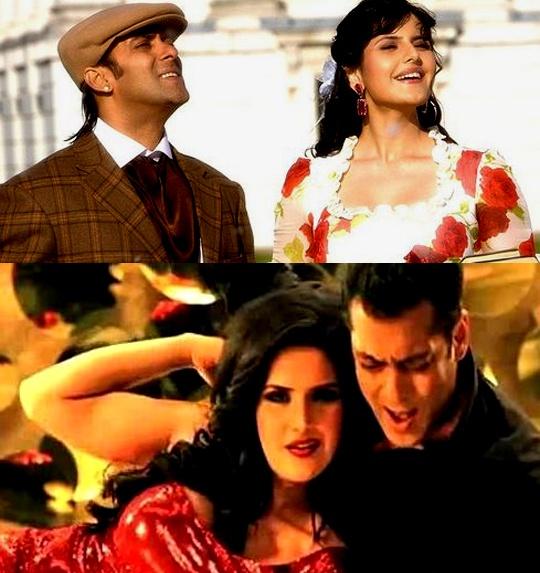 Salman Khan, Zarine Khan in Veer & Character Dheela