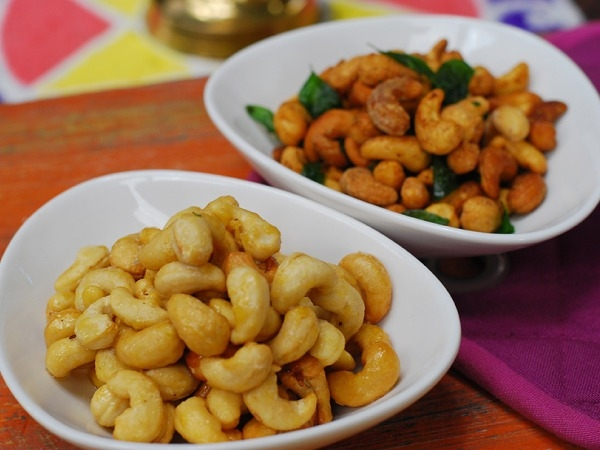 Diwali Snack Recipe: Two Way Kaju