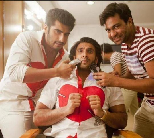 Arjun Kapoor, Ali Abbas Zafar, Ranveer Singh