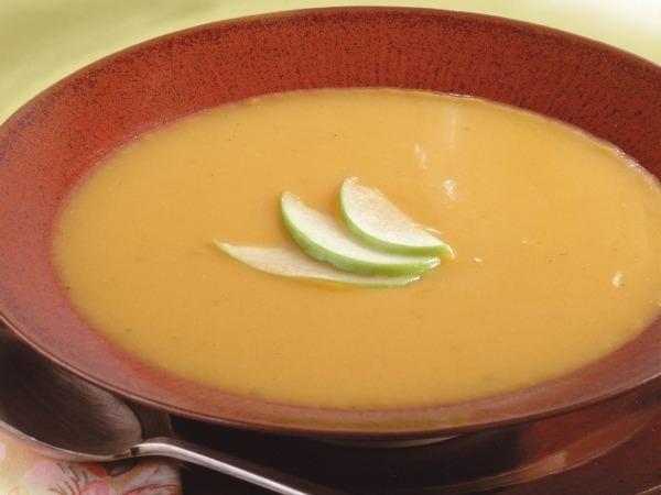 Apple Recipes: Speedy Apple Squash Soup