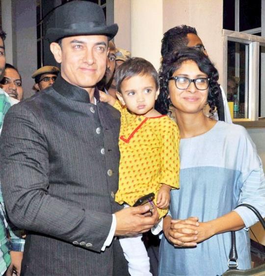 Aamir Khan, Azad Rao Khan, Kiran Rao
