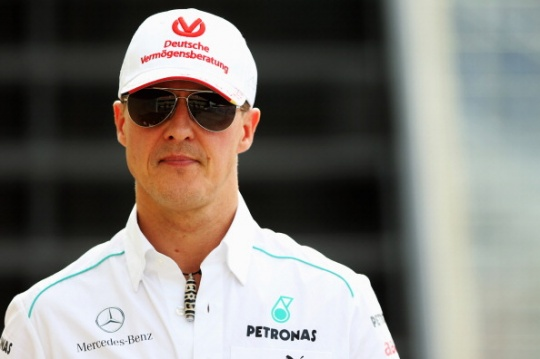 Michael Schumacher said that if somebody can break all these records I prefer it to be Sebastian Vettel, than somebody else.(Photo: Getty Images)