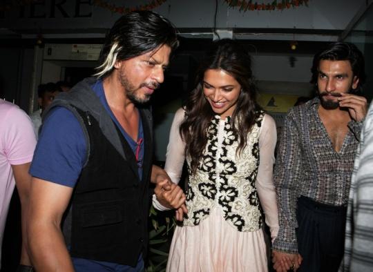 Shah Rukh Khan, Deepika Padukone, Ranveer Singh