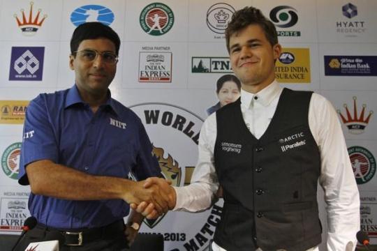 Anand vs Carlsen