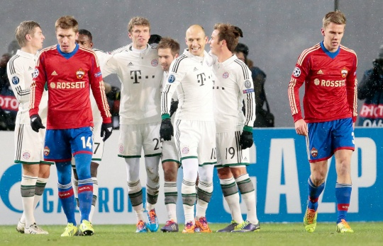 Bayern Set New Record With CSKA Win