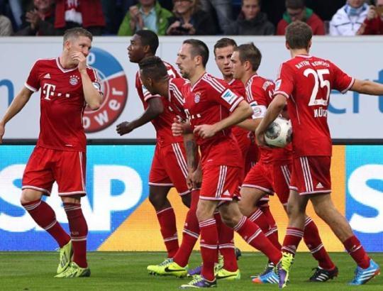 European champions Bayern Munich