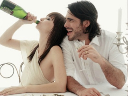 Heavy Drinking Mixes With Marriage