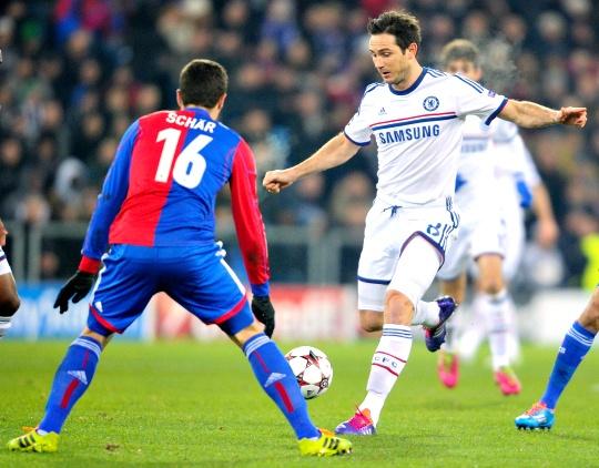 Chelsea Through Despite Basel Loss