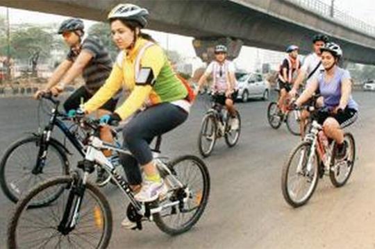 Gurgaon's Car-Free Day