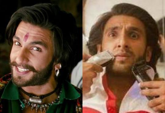 Ranveer Singh moustache