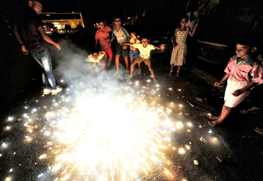 Over 180 Fire-Related Incidents in Delhi on Diwali