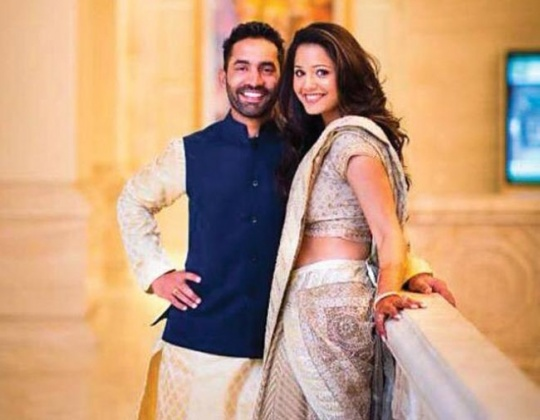 Deepika Pallikal and Dinesh Karthik