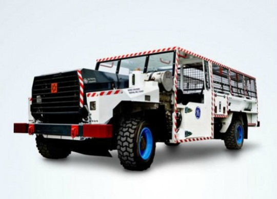 GE Mine Cruiser Designed Safety