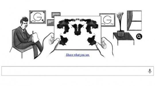 Google Doodle Rorschach