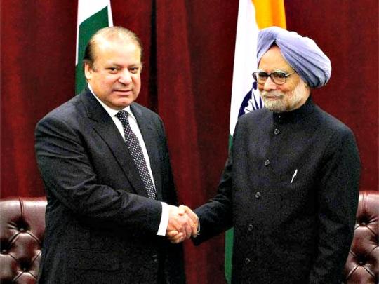 Nawaz Sharif, Manmohan Singh