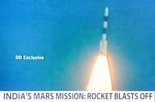 India's first mission to Mars
