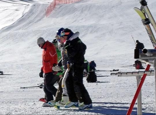 Olympic Champion Lindsey Vonn Injured