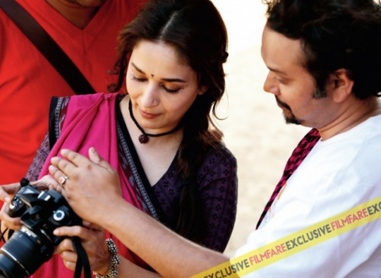 Madhuri Dixit-Nene and Soumik Sen