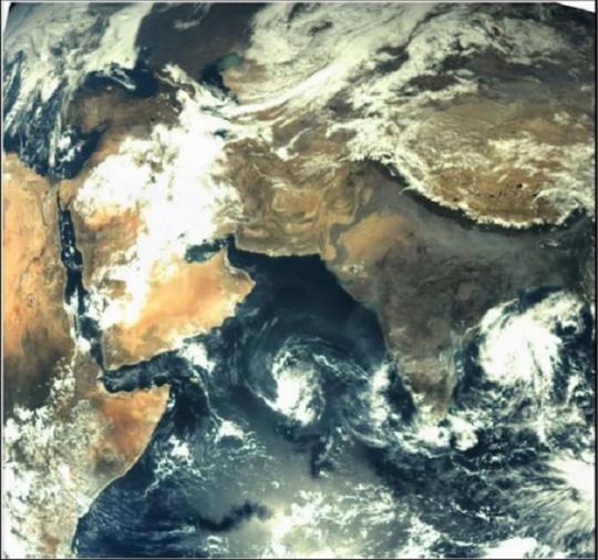 Mars Orbiter 1st Image