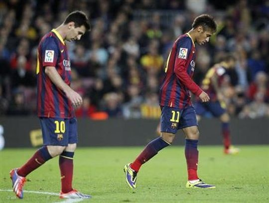 Messi Draws Another Blank