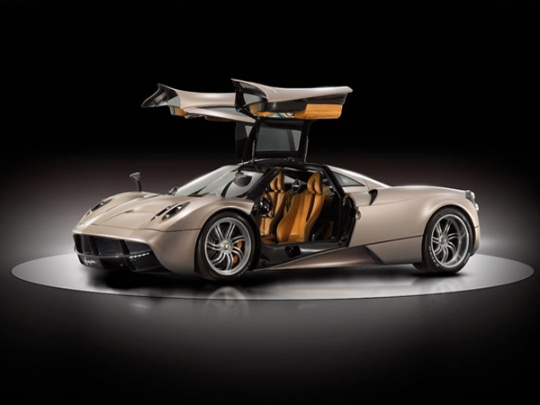 The Pagani Huayra would mark the brand's grand entrance in India