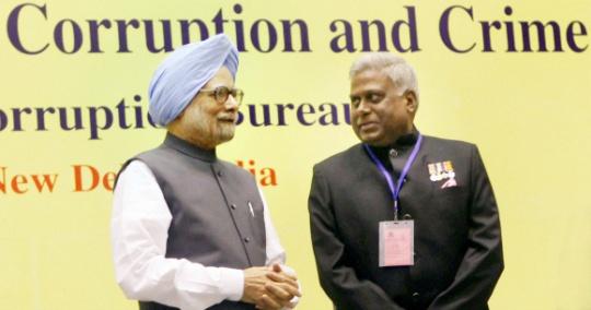 Manmohan Singh, Ranjit Sinha