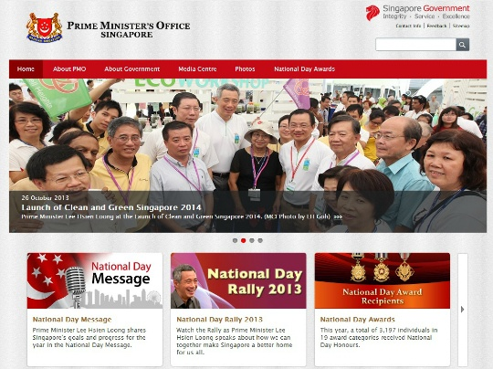 Hackers Take Down Singapore PM's Website