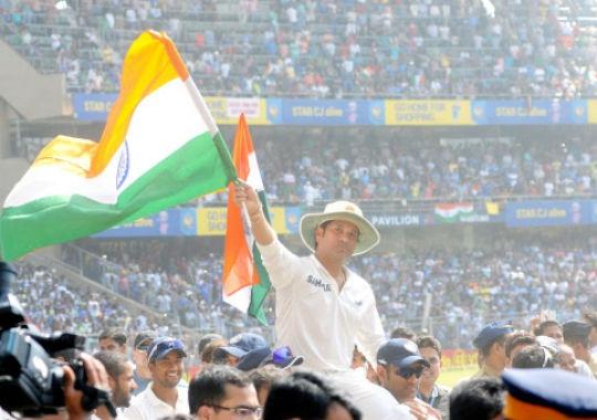 Sachin tendulkar's farewell Test