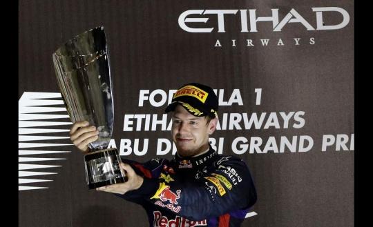 Sebastian Vettel Wins Abu Dhabi GP