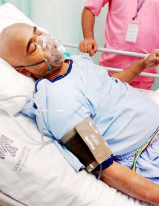 Vinod Kambli was spotted in distress while driving at a busy road at Sion, central Mumbai this morning. (Photo: PTI)
