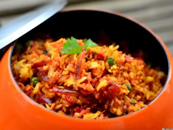 Healthy Indian Recipe:Teekhi Beetroot Biryani