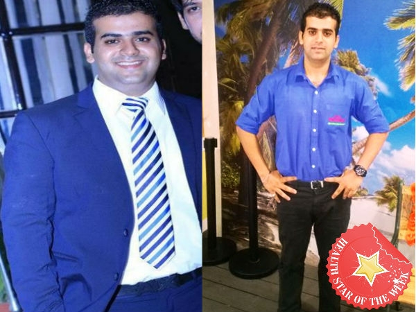 Health Star Of The Week: Dhruv's Weight Loss Journey