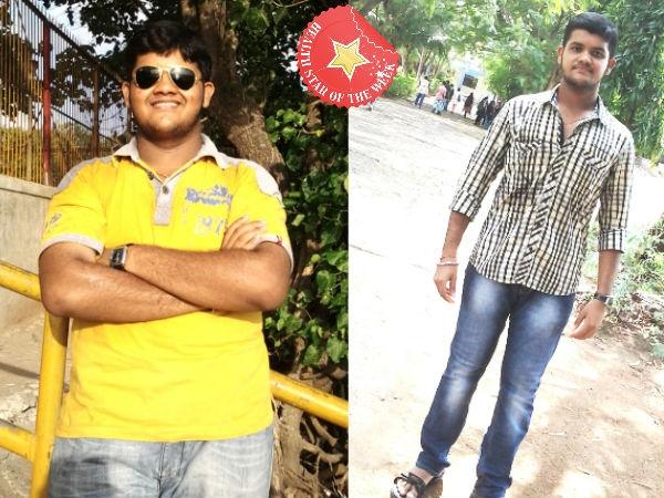 Health Star Of Week: Rushil's Inspiring Weight Loss Story