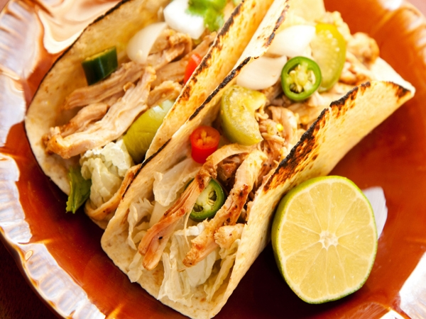 Heart Healthy Recipe: Chicken Tacos With Tomato And Grape Juice Salsa
