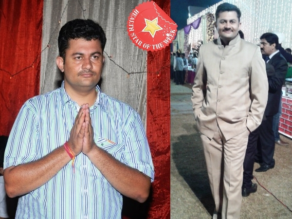 Health Star Of The Week: Sumit Narula's Determination To Lose Weight