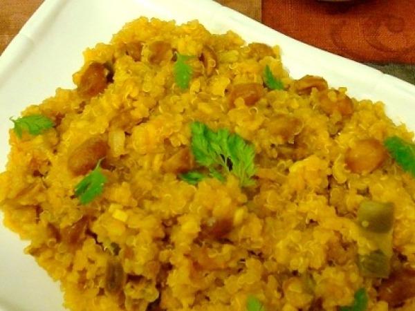 Dinner Idea: Quinoa Khichari Recipe