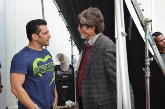 Amitabh Bachchan and Salman Khan
