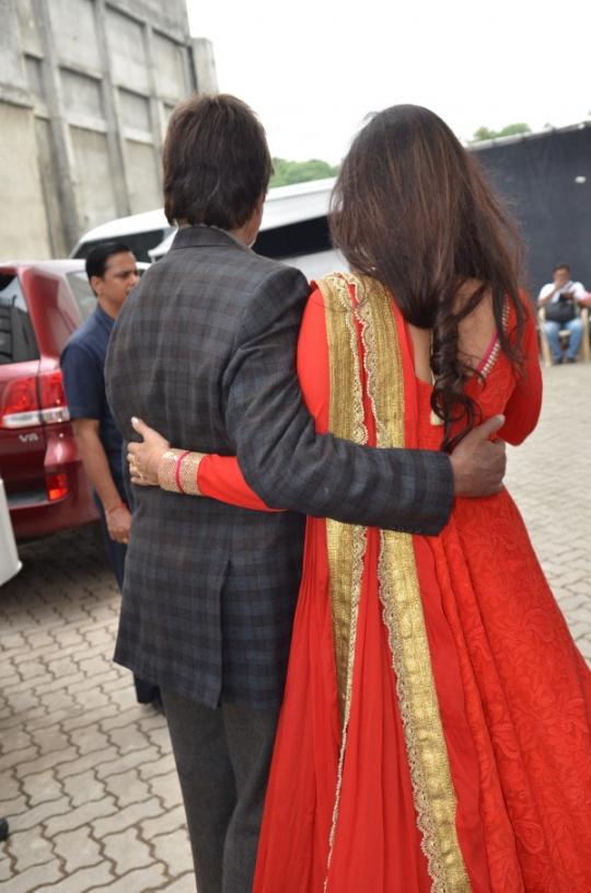 Amitabh Bachchan and Tabu