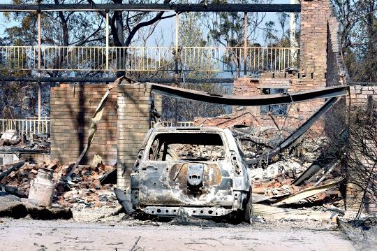 Raging Australian Wildfires Destroy Homes