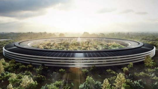 Apple's 'Spaceship' Campus Cleared for Launch