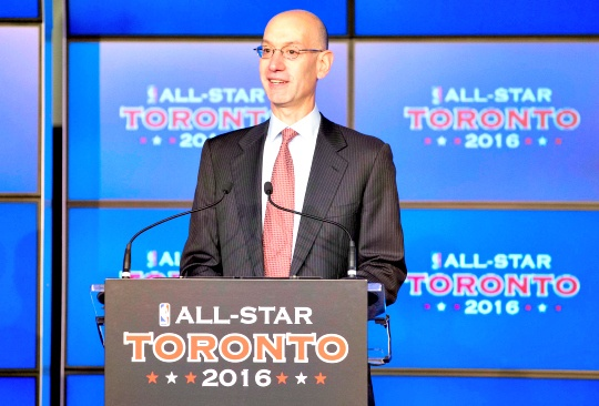 NBA Deputy Commissioner Adam Silver