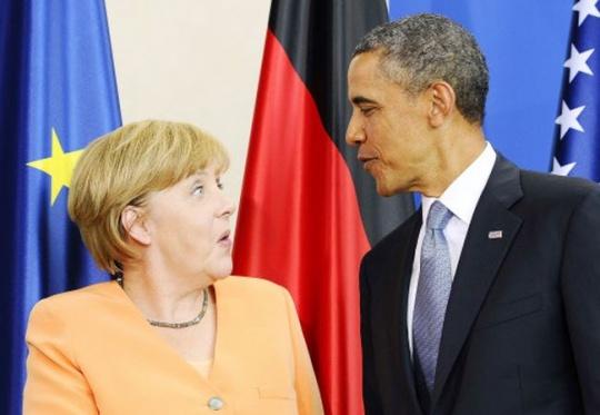 Angela Merkel Barack Obama