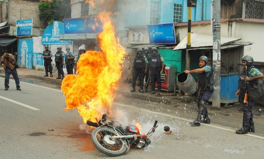 Strike Cripples Bangladesh, 14 Dead