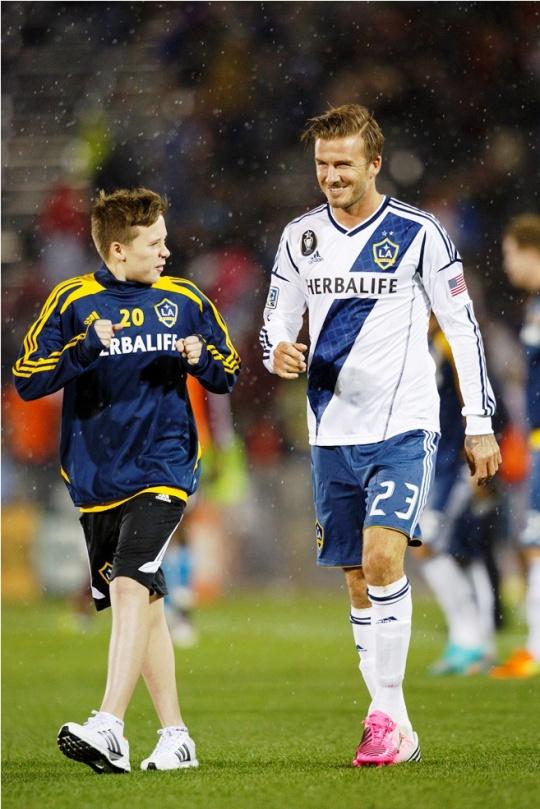 Brooklyn Makes Dad David Beckham Proud