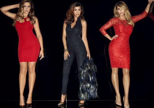Kim, Khoe, Kourtney Kardashian