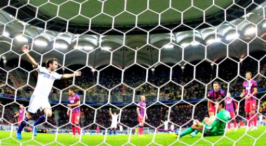 Chelsea Blow Off Cobwebs in Bucharest